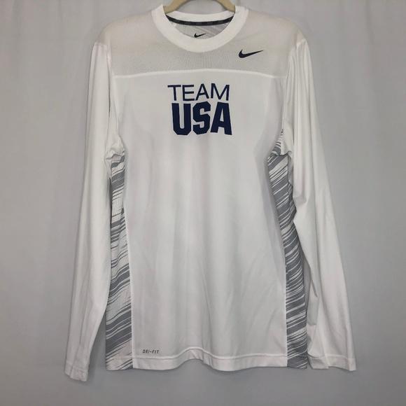4d56a11fcfc Nike Shirts | Team Usa Drifit Football Goalie Jersey M | Poshmark